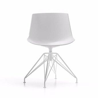 MDF Italia MDF Italia Flow Chair | LEM 4-beinig
