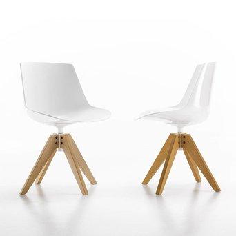 MDF Italia MDF Italia Flow Chair | VN Eiche 4-beinig