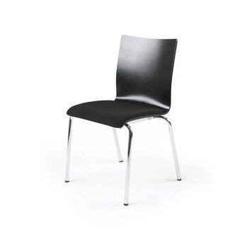 Lande Lande Ray | Holz Sitzschale, Sitz mit Bezug | ohne Armlehnen
