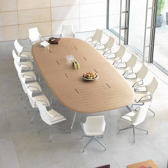 Wilkhahn Wilkhahn Graph 300/00 | Conference table | 280 x 130 cm