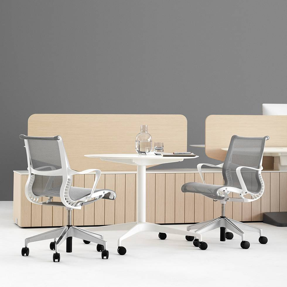 setu office chair. Image May Differ From Actual Product See All Images. Article Description. The Setu Chair Is A Sophisticated Office I