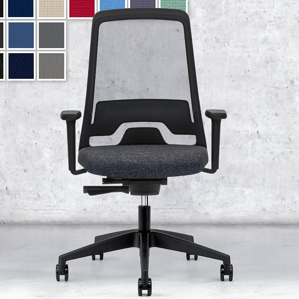 interstuhl interstuhl everyis1 office chair workbrands. Black Bedroom Furniture Sets. Home Design Ideas