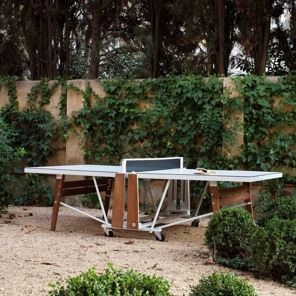 rs barcelona rs folding tischtennistisch ping pong tisch workbrands. Black Bedroom Furniture Sets. Home Design Ideas