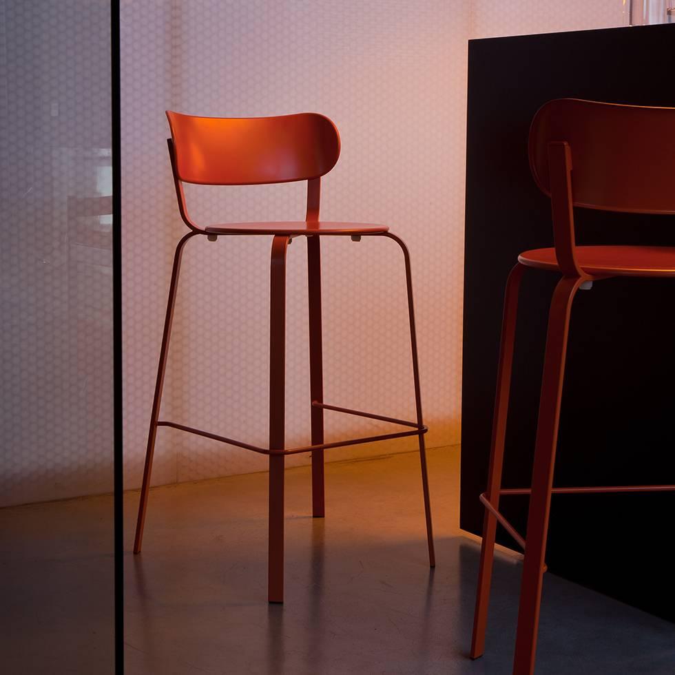 la palma barhocker la palma lem lapalma lem lapalma barhocker lem in leder schwarz la palma lem. Black Bedroom Furniture Sets. Home Design Ideas