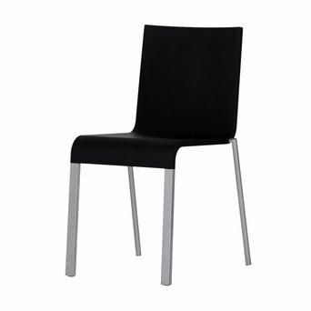 Vitra SALE | Vitra .03 | Basic Dark | Silber aluminium / stahl | Stapelbar
