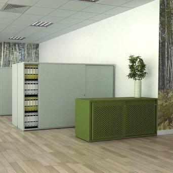 Bisley Bisley Glide II | Sliding door cupboard | W 200 cm