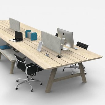 Buzzispace BuzziSpace BuzziPicNic WorkBench | Wood