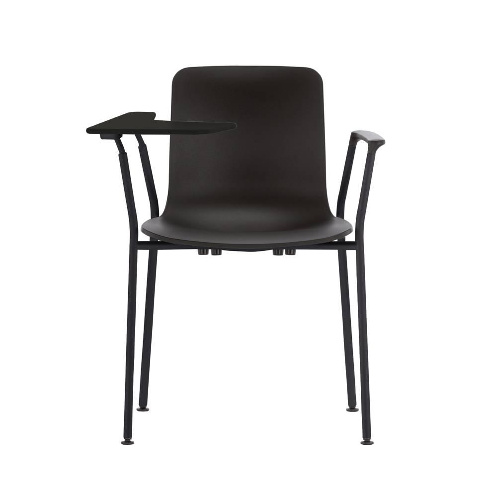sale vitra hal tube writing tablet basic dark kunststoff schwarz stahl workbrands. Black Bedroom Furniture Sets. Home Design Ideas