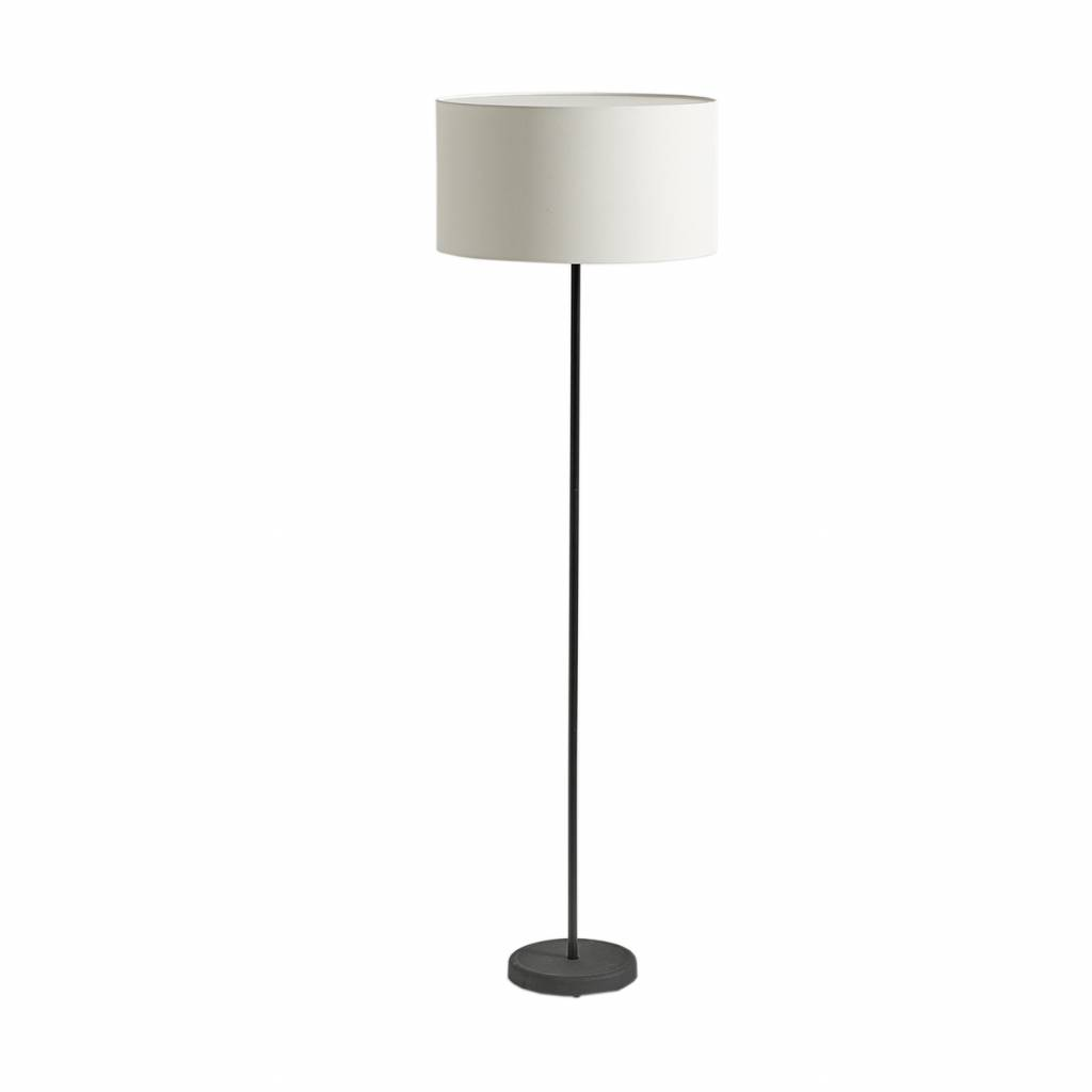 hay hay cast drum shade floor lamp workbrands