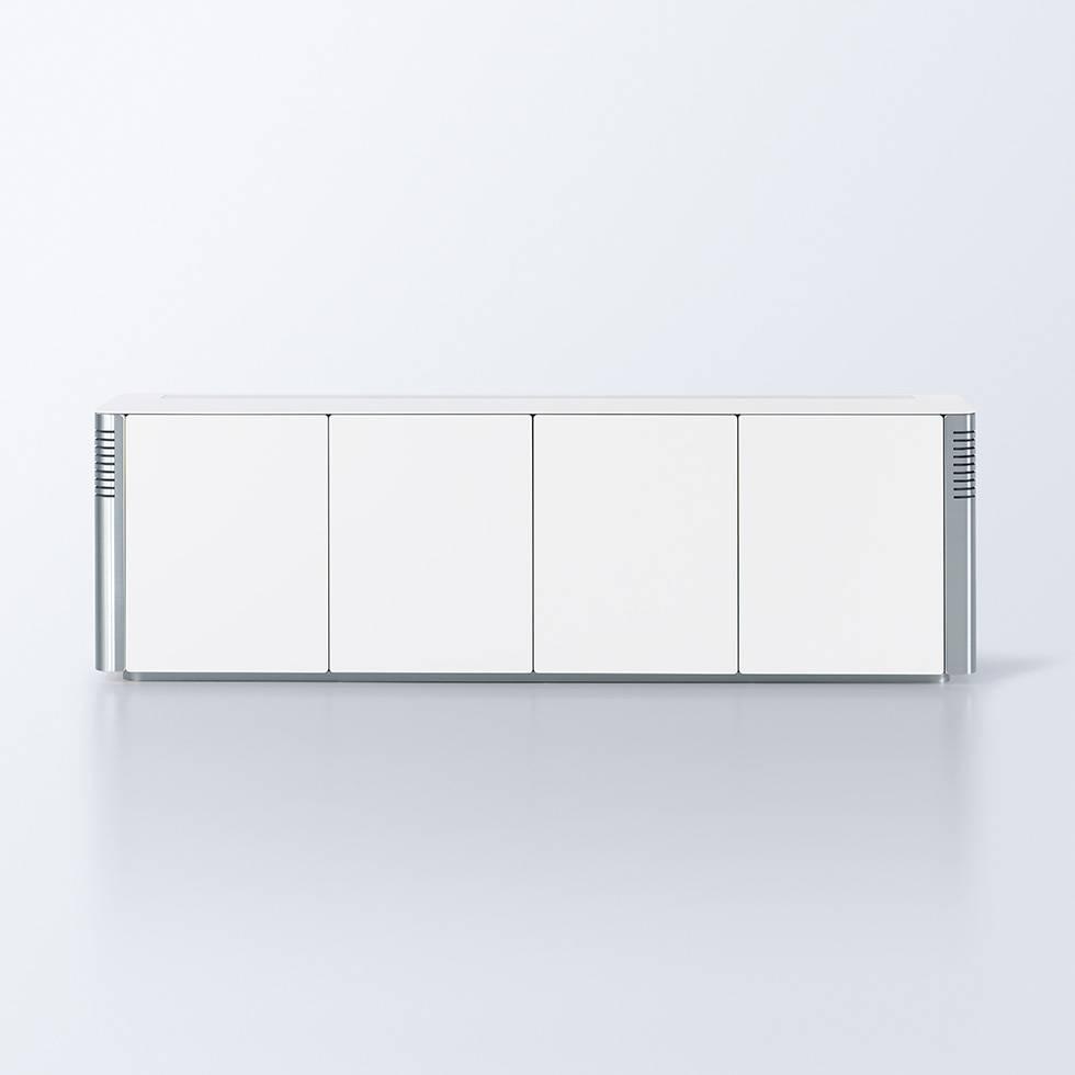 interstuhl silver sideboard workbrands. Black Bedroom Furniture Sets. Home Design Ideas