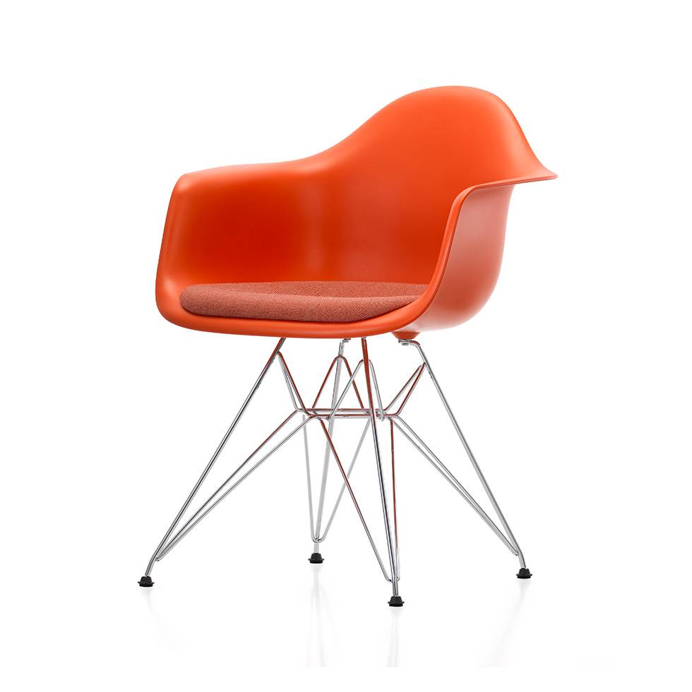 Vitra Vitra Eames Plastic Armchair DAR | Seat upholstery ...