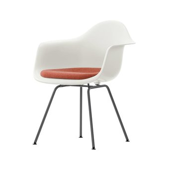 Vitra Vitra Eames Plastic Armchair DAX | Seat upholstery