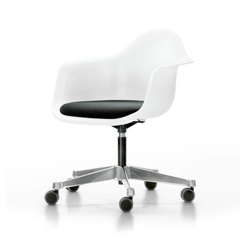 Vitra Vitra Eames Plastic Armchair PACC | Mit Sitzkissen