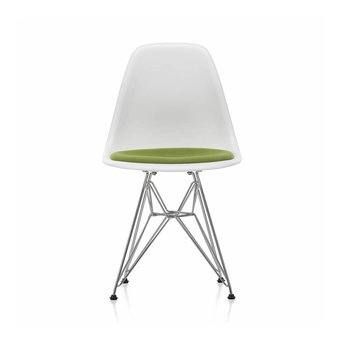 Vitra Vitra DSR Eames Plastic Side Chair DSR | Seat upholstery