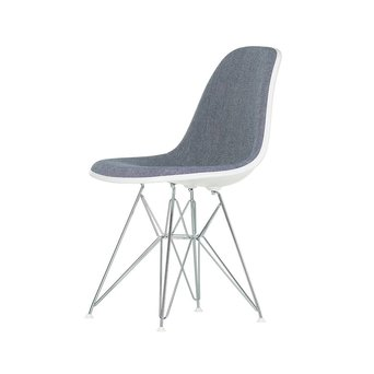 Vitra Vitra Eames Plastic Side Chair DSR | With full upholstery