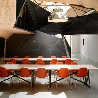 Vitra Vitra Eames Plastic Side Chair DSS-N | Met zitkussen