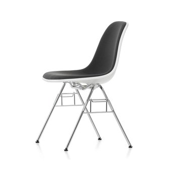 Vitra Vitra Eames Plastic Side Chair DSS-N | With full upholstery