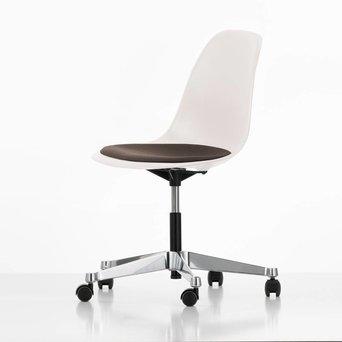 Vitra Vitra Eames Plastic Side Chair PSCC | Zitting bekleed