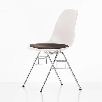 Vitra Vitra Eames Plastic Side Chair DSS | Met zitkussen