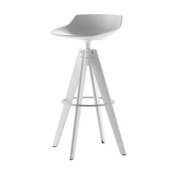 MDF Italia MDF Italia Flow Stool | VN four-legged steel