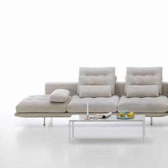 Vitra Vitra Grand Sofà | Offen | 3,5-Sitz