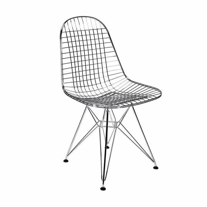 vitra wire chair dkr stoel workbrands. Black Bedroom Furniture Sets. Home Design Ideas