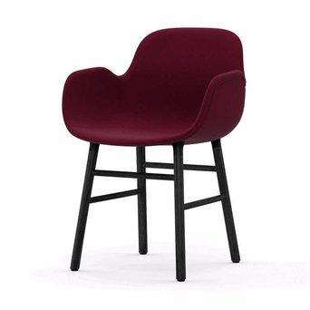 Normann Copenhagen Normann Copenhagen Form Armchair | Houten onderstel | Volledig bekleed