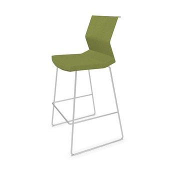 Bene Bene B_Side | Bar stool | Seat- and backshell upholstered