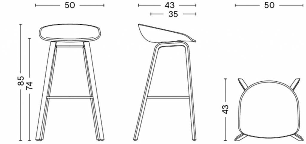 Hay Hay About A Stool Aas 32 High Workbrands