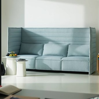 Vitra Vitra Alcove Plume Contract Highback Sofa