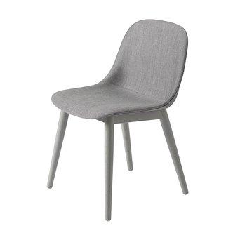 Muuto Muuto Fiber Side Chair | 4 poots hout | Volledig bekleed
