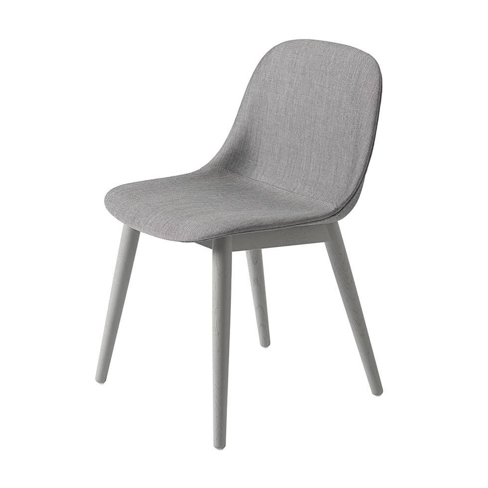 Muuto Muuto Fiber Side Chair Four Legged Wood Base