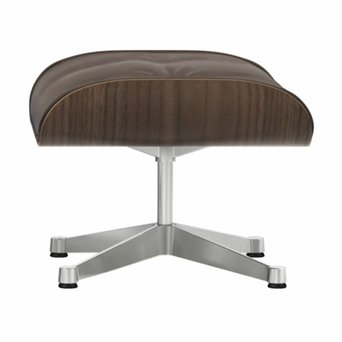 Vitra Vitra Lounge Chair Ottoman | Walnut, black pigmented
