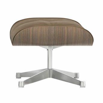 Vitra Vitra Lounge Chair Ottoman | Nussholz, Weiß pigmentiert