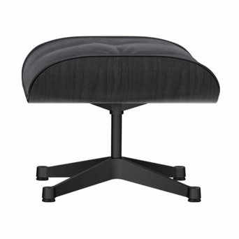 Vitra Vitra Lounge Chair Ottoman | Black ash