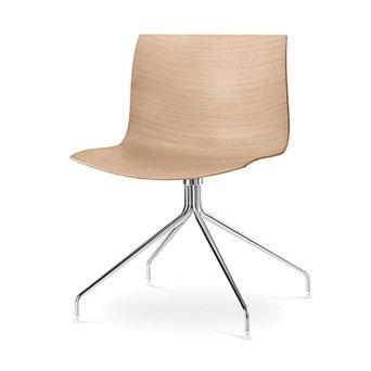 Arper Arper Catifa 46 | Kreuzfuß | Sitzschale aus Holz