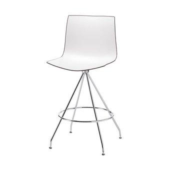 Arper Arper Catifa 46 | Barhocker | Kreuzfuß | Sitzschale aus Kunststoff