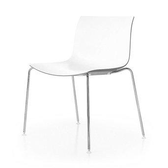 Arper Arper Catifa 53 | 4-beinig Stahl | Sitzschale aus Kunststoff