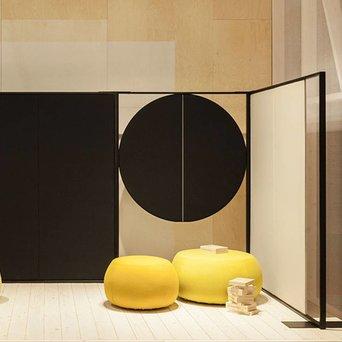 Arper Arper Parentesit Freestanding | Rond | B 122 x H 180 cm