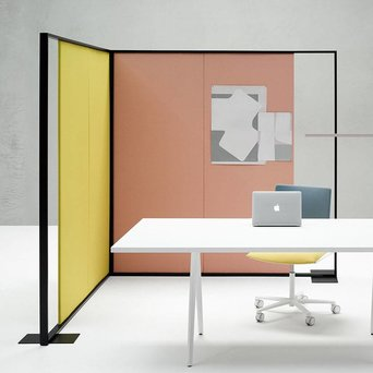 Arper Arper Parentesit Freestanding   Rechthoekig   L 162 x H 180 cm