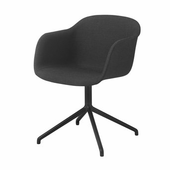 Muuto Muuto Fiber Armchair | Swivel base | Volledig bekleed