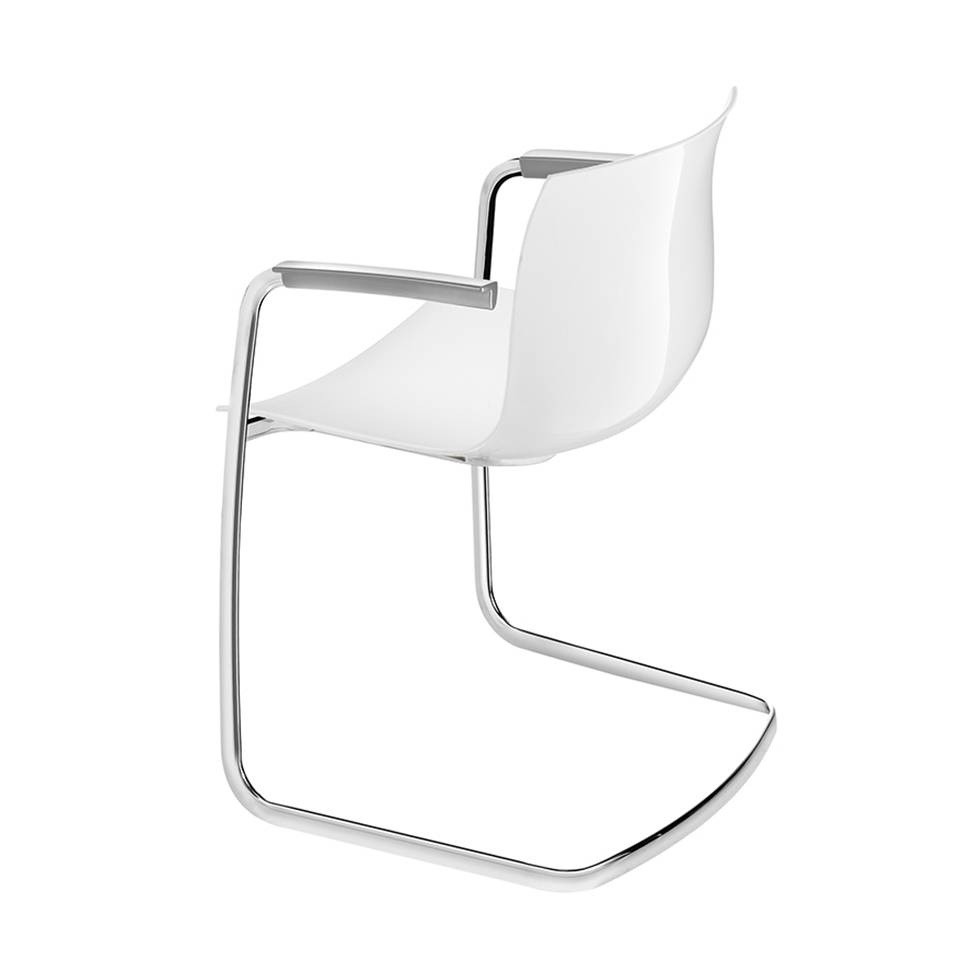 Arper Catifa 53 | Cantilever | Plastic seat shell  sc 1 st  Workbrands & Arper Arper Catifa 53 | Cantilever | Plastic seat shell - Workbrands