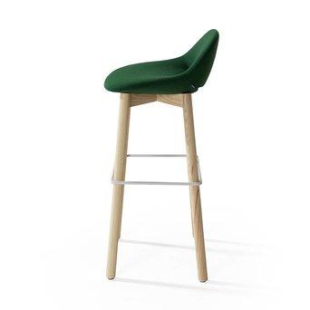 Artifort Artifort Beso | Bar stool | Four-legged wood