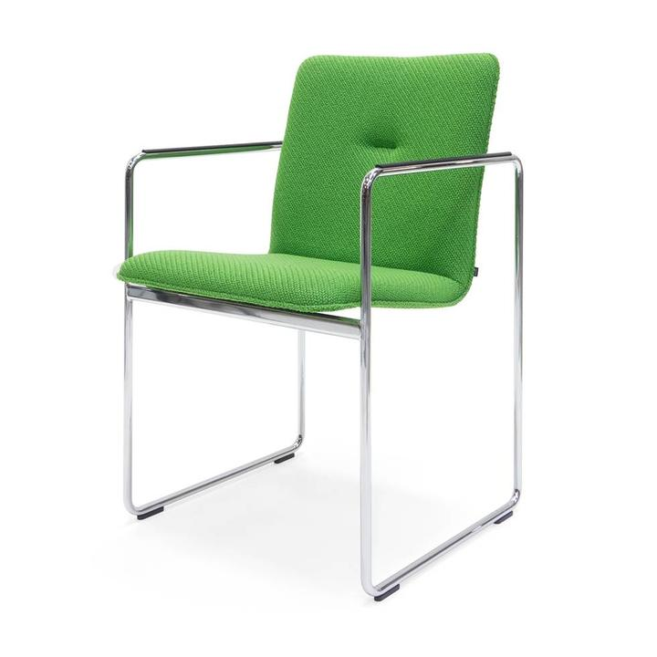 SALE   Arco Frame Round   Chrom   Coda grün