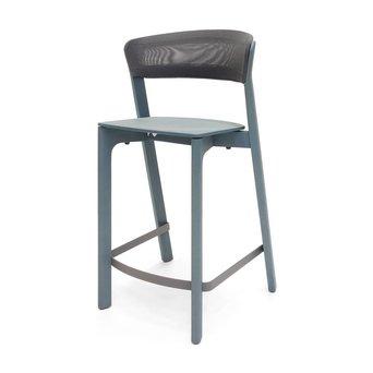 Arco SALE   Arco Cafe Stool   Sitzhöhe 65 cm   Blau eiche