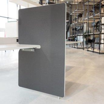 Vitra SALE | Vitra Joyn seitenwand | B 80 x H 122 cm | Plano dunkelgrau