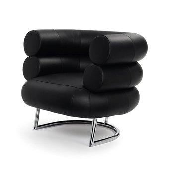 Classicon SALE | Classicon Bibendum | Black Classic Leather | Chrome steel