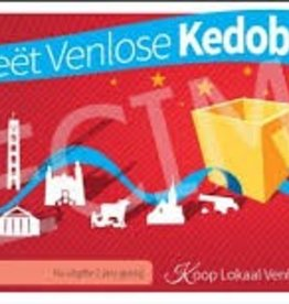 Groeët Venlose Kedobón € 10,- en € 15,-