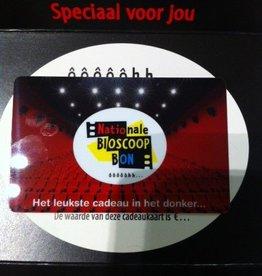 Bioscoopbon €5 - €150