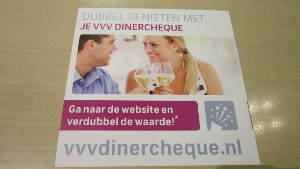VVV Dinerchequ